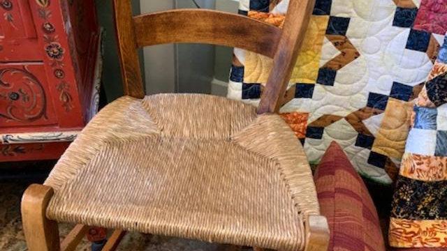 Vintage Chestnut Chair