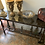 Thumbnail: Iron Marble Top Sideboard