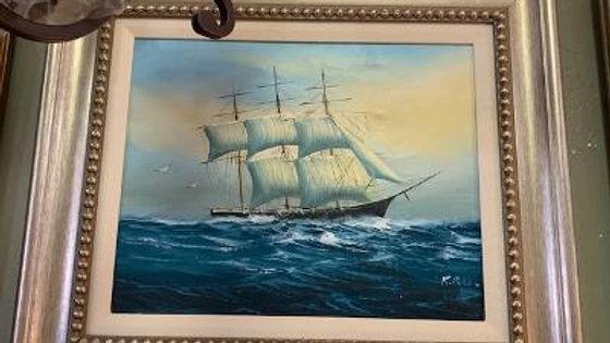 Ship Giclee