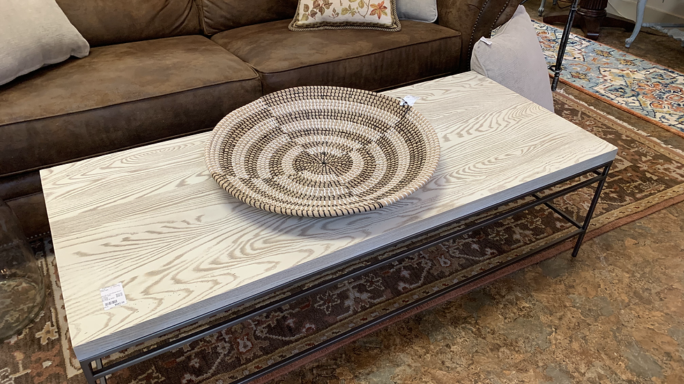 Mitchell & Gold White Board Coffee Table ***SOLD***