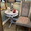 Thumbnail: Vintage Harp Style Side Table