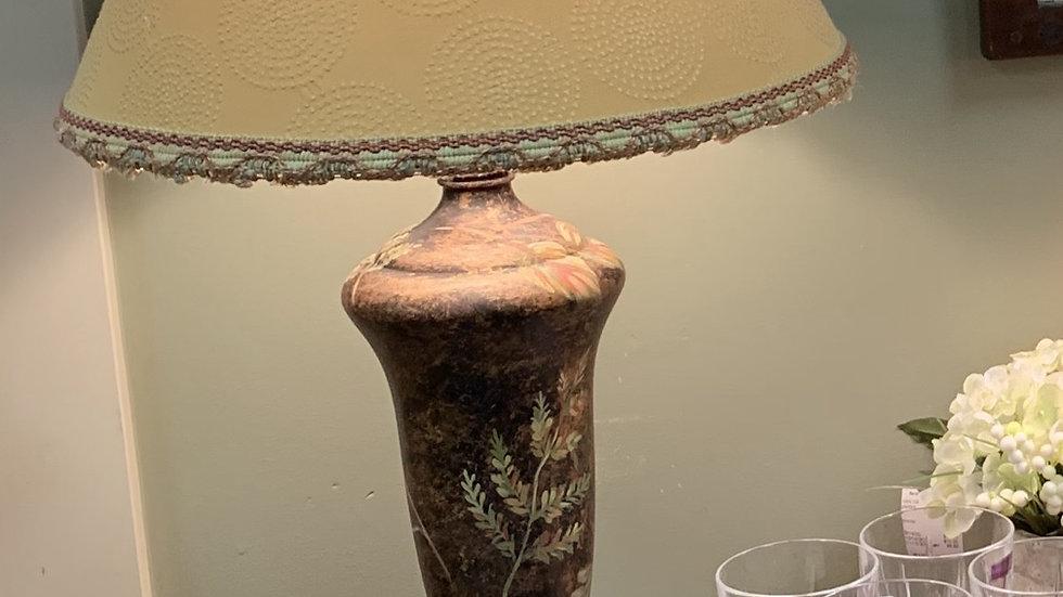 Painted Leaf Lamp