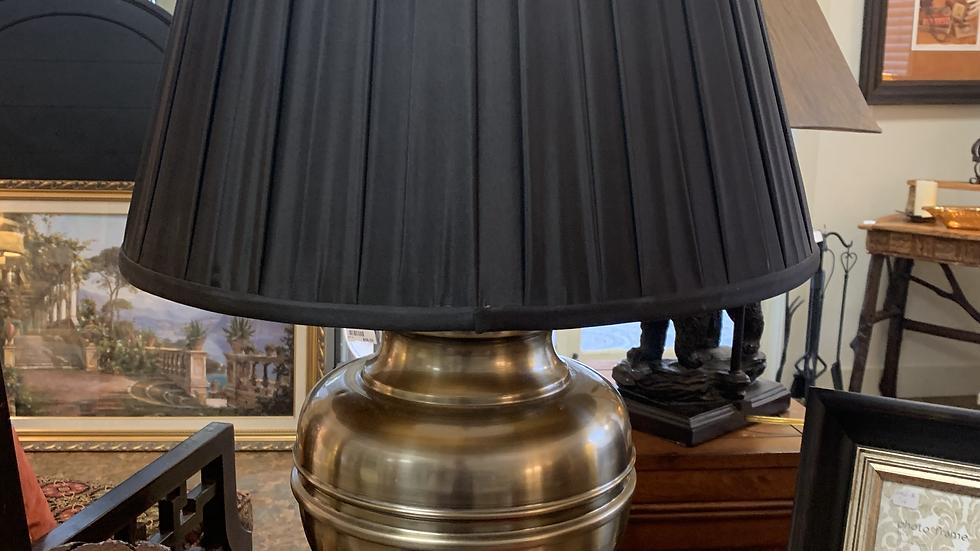 Excelsior Pewter Lamp