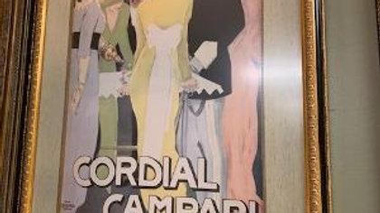 Vintage Framed Poster ***SOLD***
