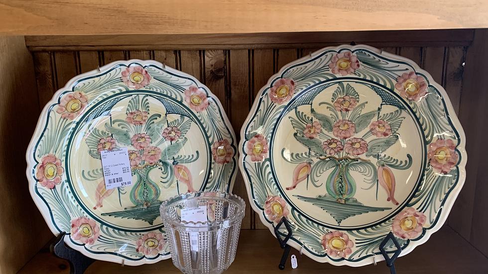 SET/2 Greek Pottery Plates