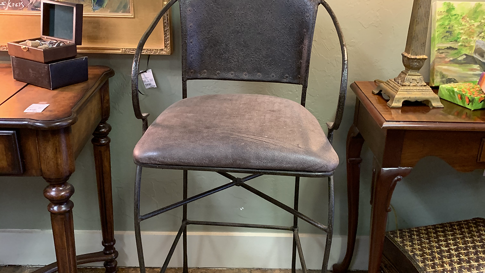 SET/2 Iron Barstools