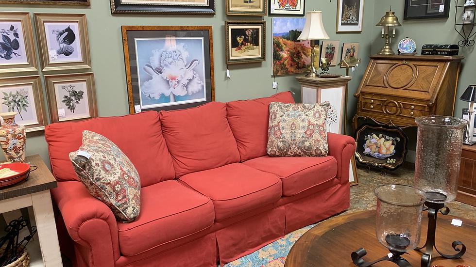 Red Sleeper Sofa