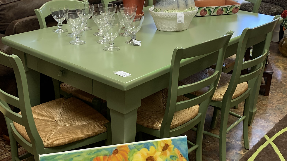 Pottery Barn Dining Set ***SOLD***