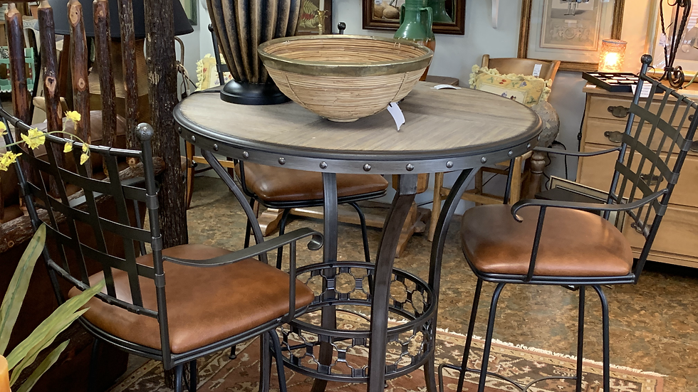 Iron Bar Table ***SOLD***