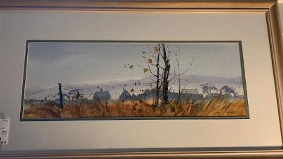 Watercolor by Ed Gifford ***SOLD***