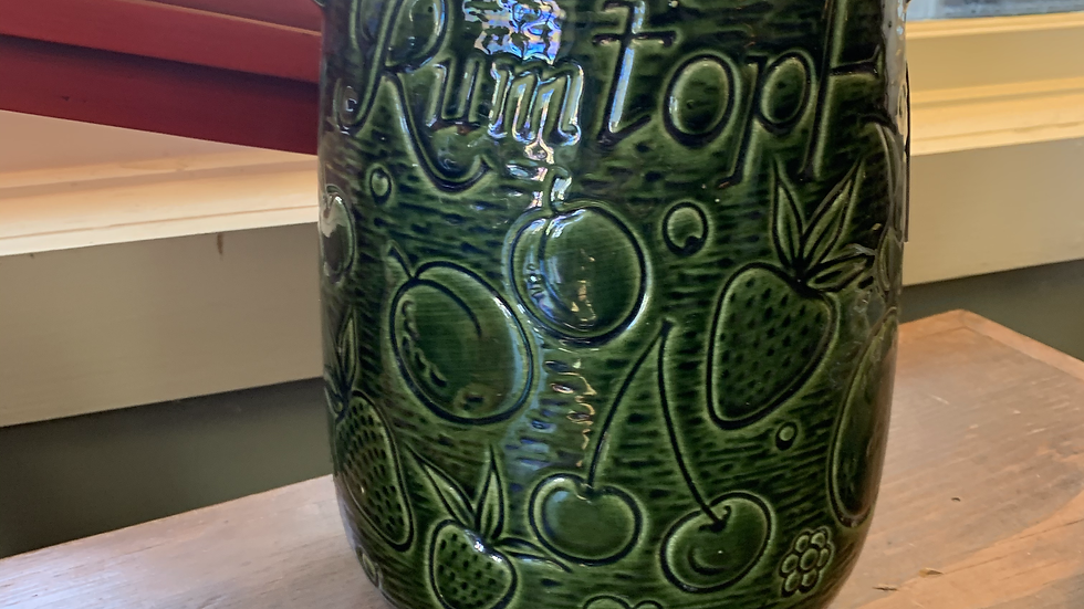 Vintage Rumtopf Rum Fruit Pot, Germany