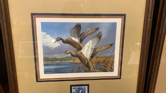 Signed L.E. Duck Stamp Print ***SOLD***