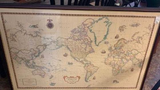 Rand McNalley Signature Series World Map **SOLD**