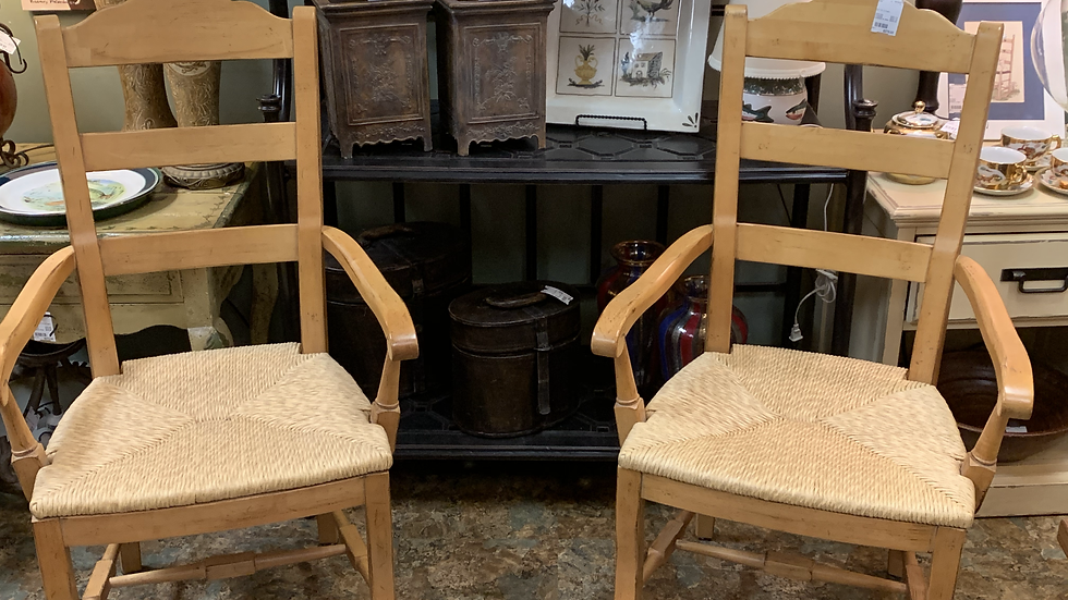SET/2 Arm Chairs **SOLD***