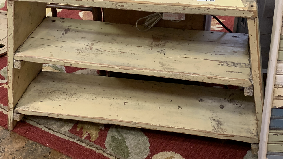 Antique Bench or Small Shelf