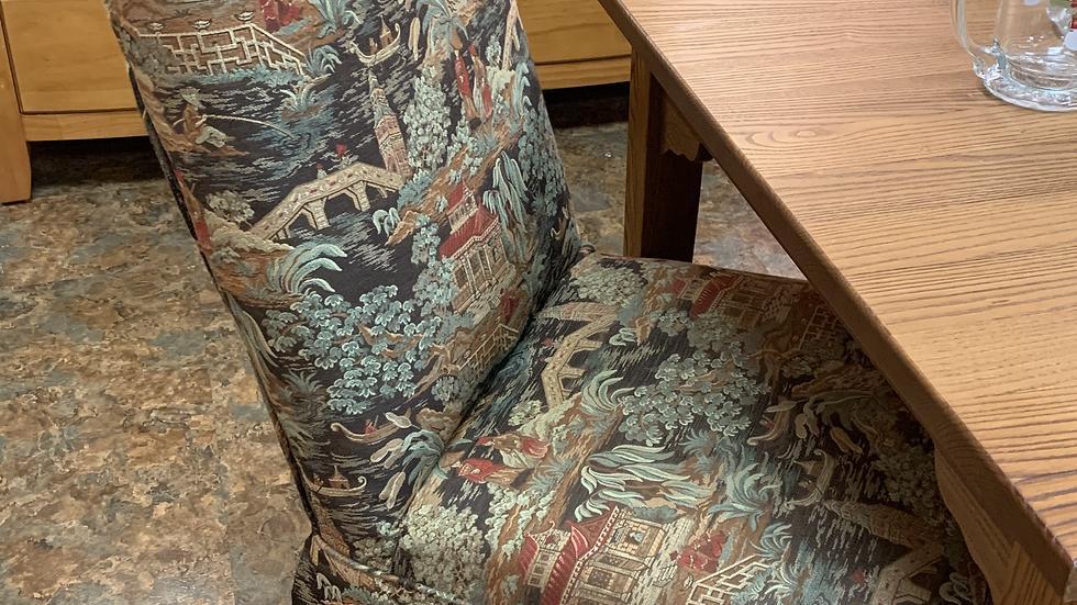 SET/2 Custom Covered Chairs