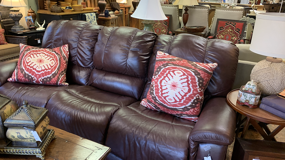Lazy Boy Leather Power Recliner