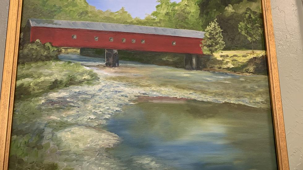 Cripple Creek Original Oil Painting by Local Artist