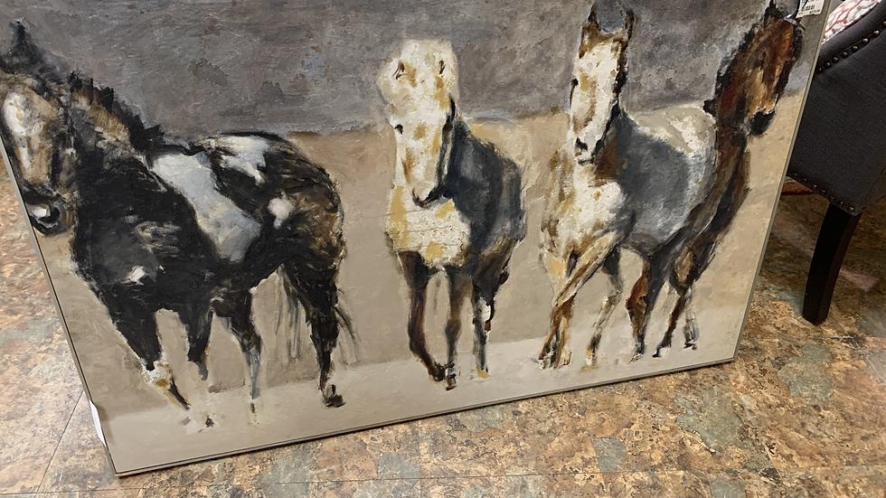 Ballard Design Horse Art Work