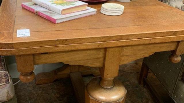 Antique Oak Pub Table ***SOLD***