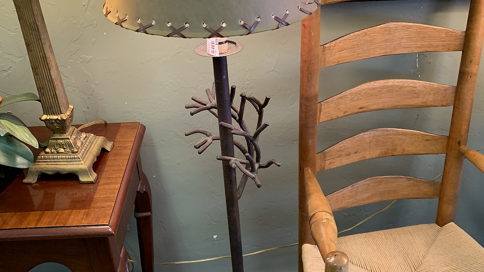 Rustic Iron Floor Lamp