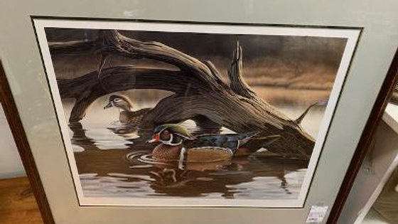 Signed L.E. Russell Cobane Harmony Duck Print ***SOLD***