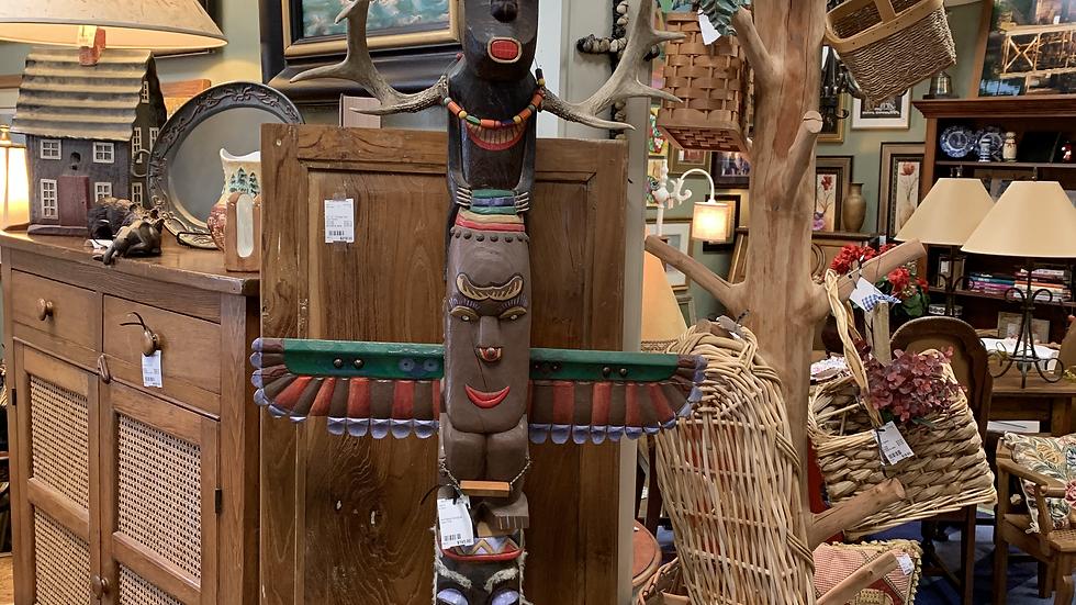 Handmade Aboriginal Totem Pole ***SOLD***