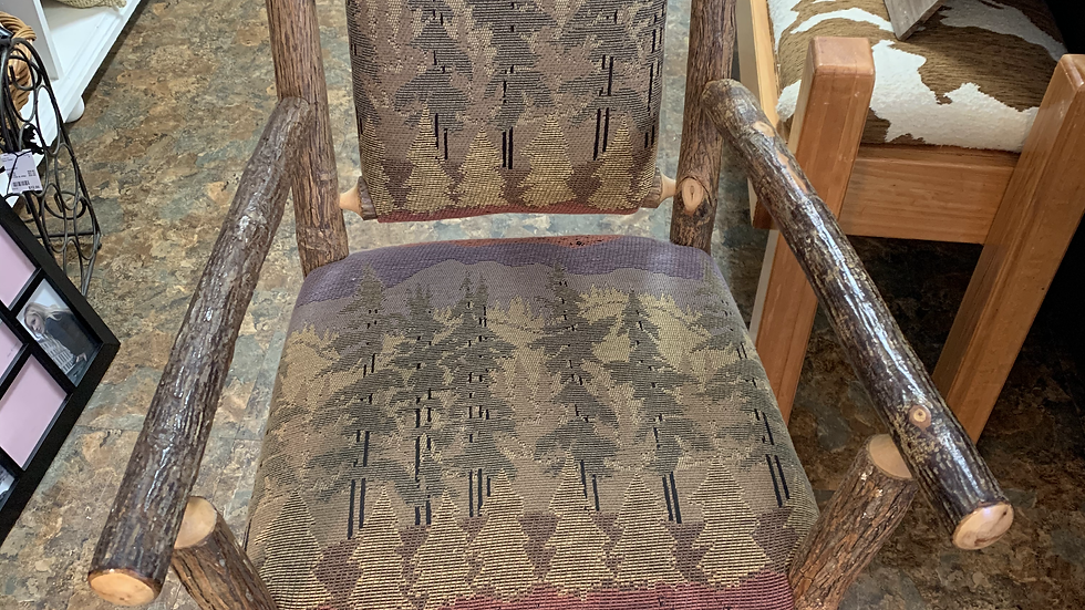 SET/6 Old Hickory Dining Chairs