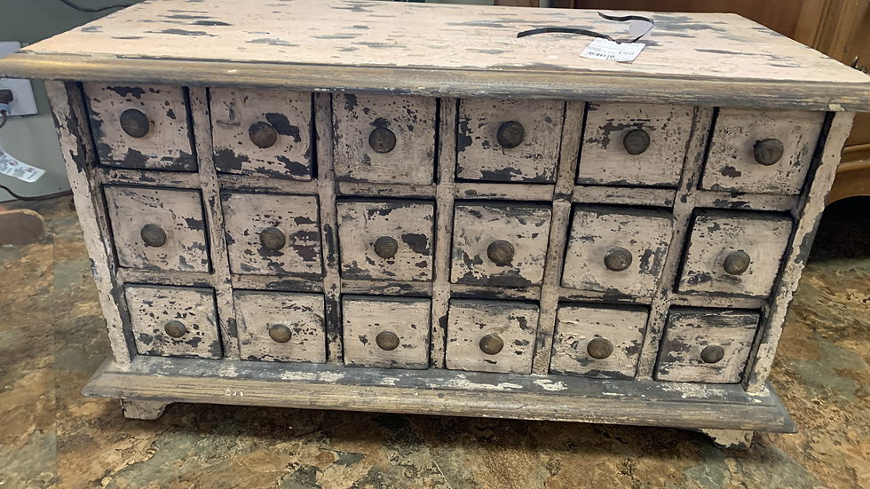 Old Apothecary Chest