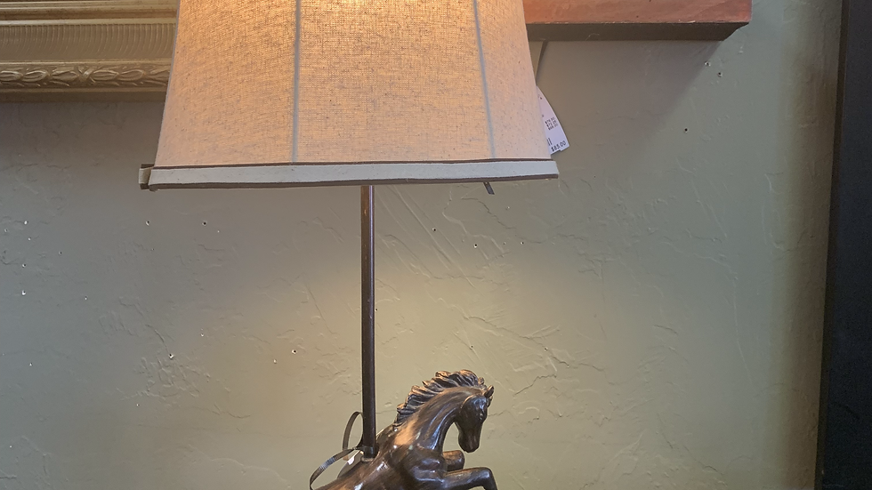 Iron Horse Lamp **SOLD**