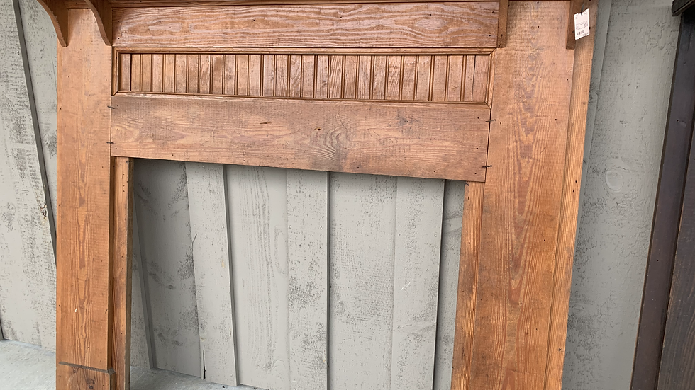 Antique Mantel from 1920 Glenville Farm House