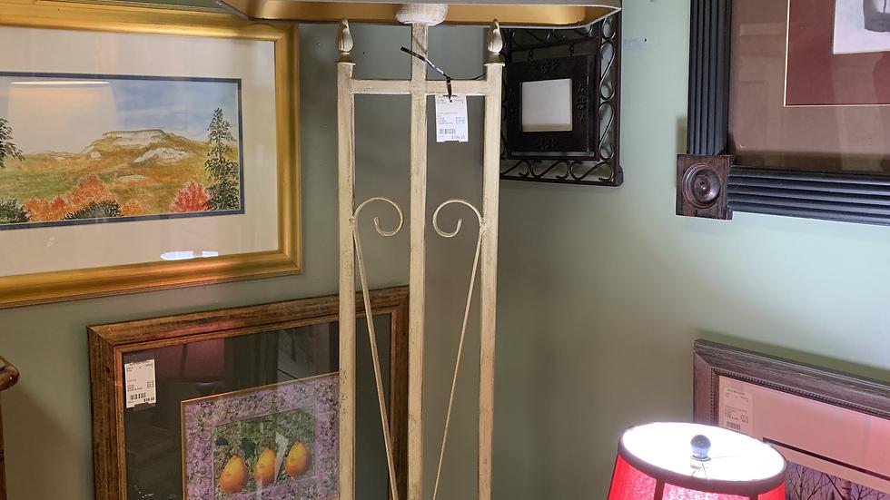 Old Wrought Iron Floor Lamp