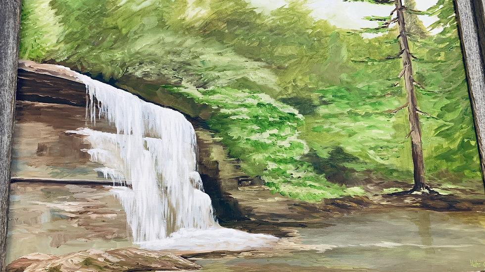 "Original Painting ""Mountain Days"" ***SOLD***"