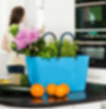 Large-Turquoise-Hinza-bag-in-the-Kitchen