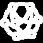 An icon of an atom