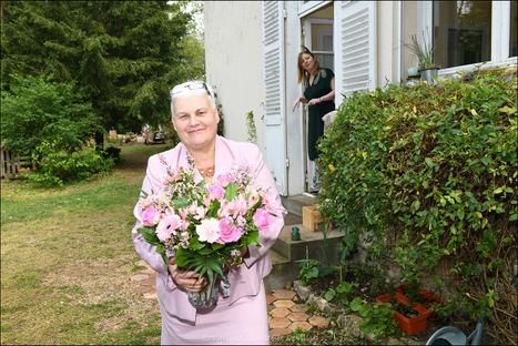 @mariage rétro @mariage 2 chevaux @mariage fleuri @mariage couronne de fleurs @mariage chic @mariage champêtre @mariage hiver