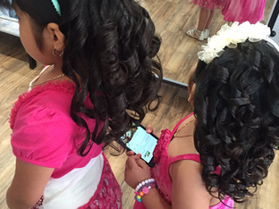 Sweet Shiny Curls for Pretty Little Girls