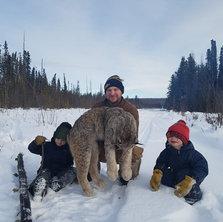 LaPierre Family on the Trapline