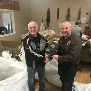 Vic Toutant - 2019 Wolf Conservation & Management Award