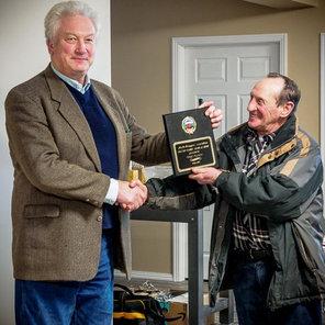 Omer Plaquin receives his Award of Merit 2019