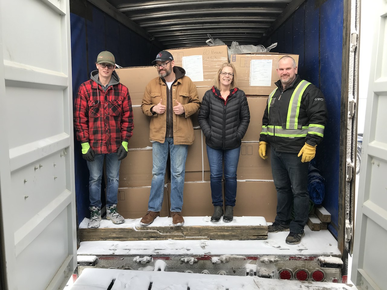 Fur Depot January 2019 Jeff, Tracey, Hun