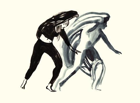 DD Dorvillier, human future dance corps