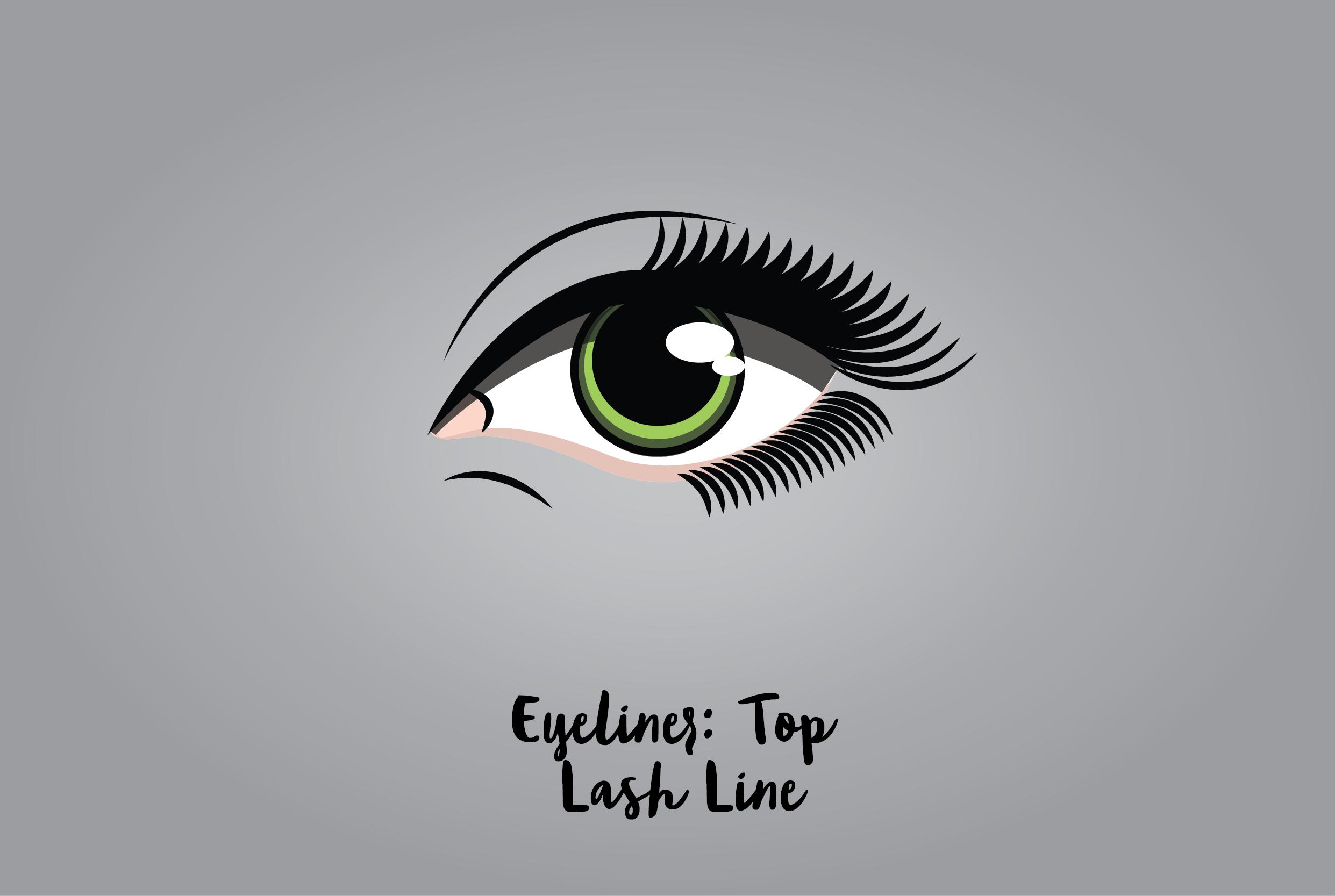 Eyeliner: Top Lash Line
