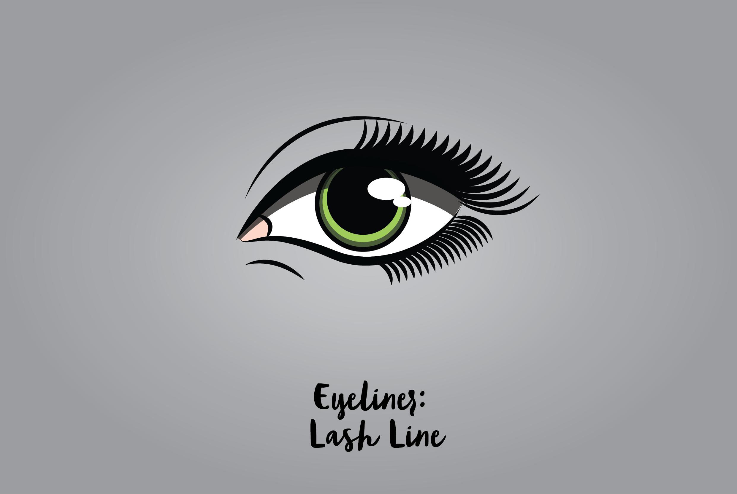 Eyeliner: Lash Line