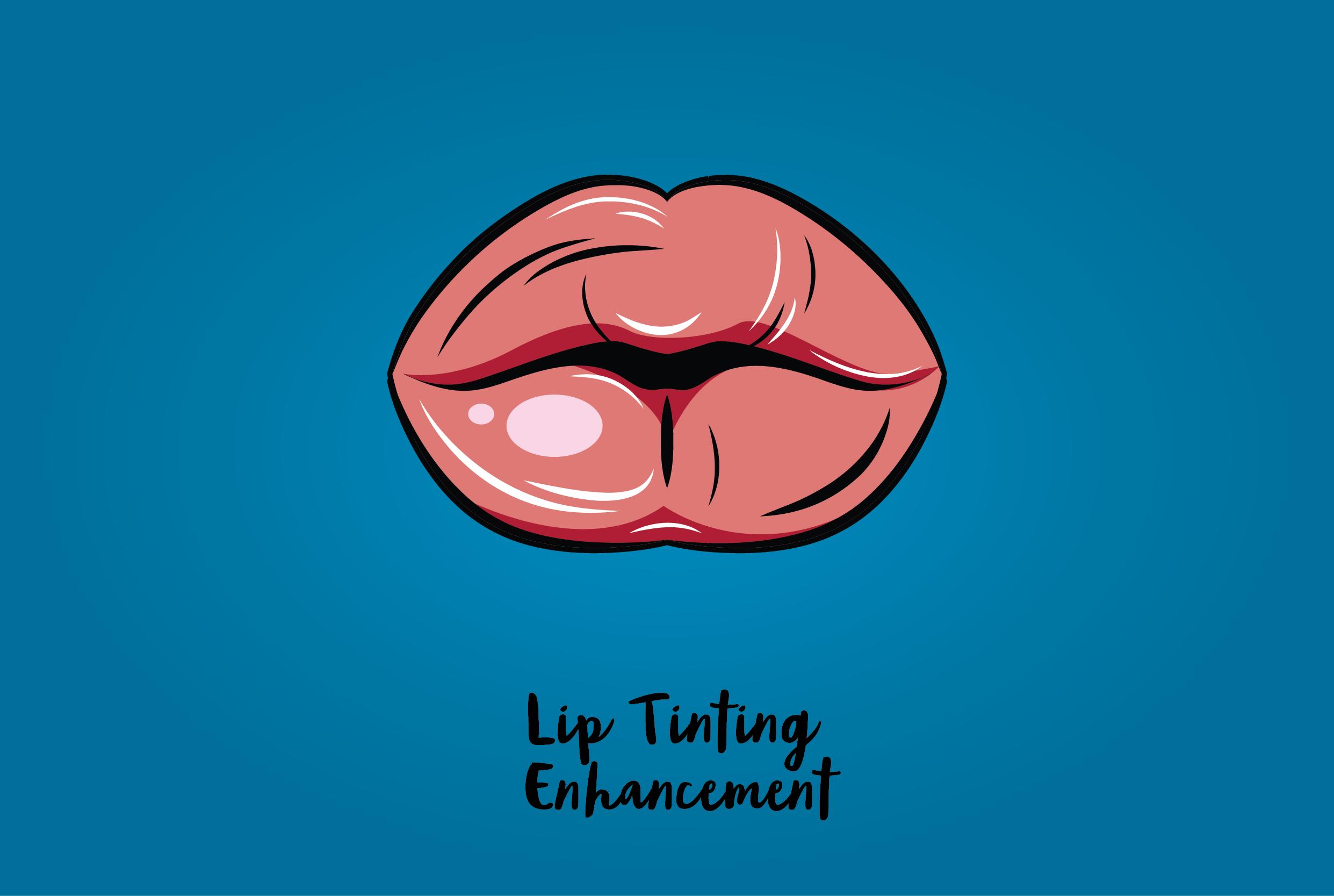 Lip Tinting Enhancement