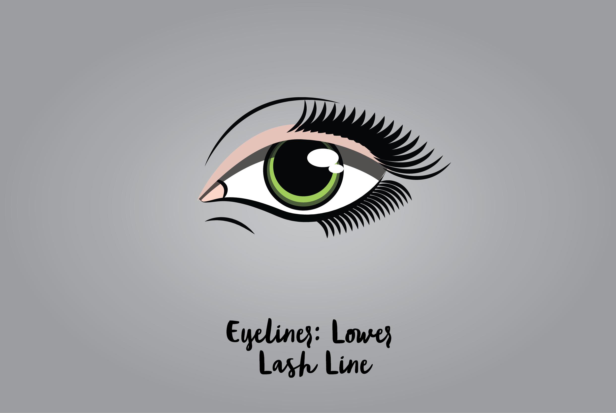 Eyeliner: Lower Lash Line
