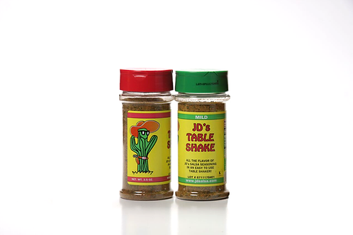 JD's Table Shakers 2 Pack