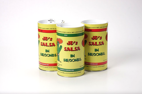 JD's Salsa in Seconds (Triple Pack)