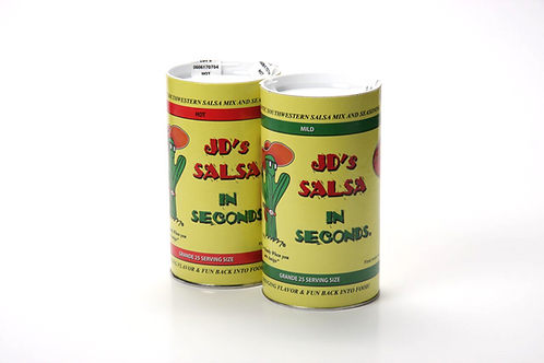 JD's Salsa in Seconds (Double Pack)