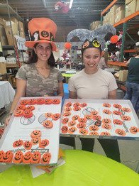 Nursing students from West Coast University helping us out for Halloween